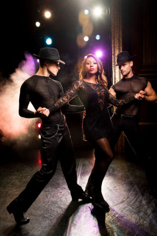 Alexandra Burke as Roxie Hart in Chicago - credit Matt Crockett